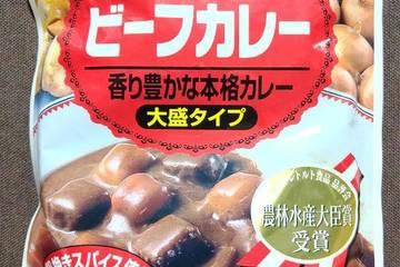 山崎製パン 香り豊かな本格カレー ビーフカレー 大盛タイプ