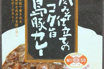 沖縄物産企業連合 沖縄宝島 肉みそ仕立てのコク旨島豚カレー