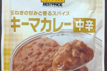 イオン トップバリュベストプライス 玉ねぎの甘味と香るスパイス キーマカレー 中辛