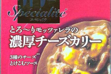 明治 銀座カリースペシャリテ とろ〜りモッツァレラの濃厚チーズカリー 3種のチーズとけこむソース