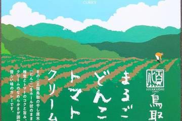 鳥取カレー研究所 野菜料理研究家カノウユミコ監修 鳥取県産まるごとどんことトマトのクリームカレー