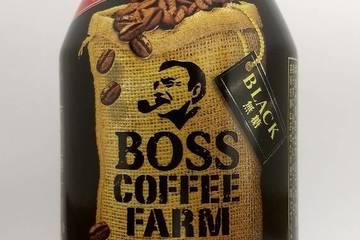 サントリー ボス コーヒーファーム ブラック 無糖