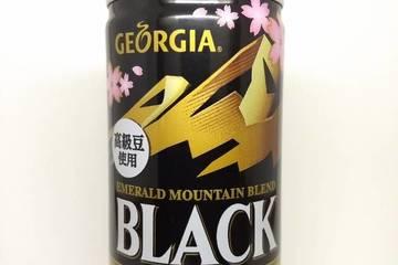 コカコーラ ジョージア エメラルドマウンテンブレンド ブラック 春季限定デザイン缶