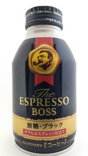 サントリー ザエスプレッソボス 無糖・ブラック