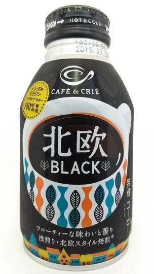 ポッカサッポロ カフェ・ド・クリエ 北欧ブラック