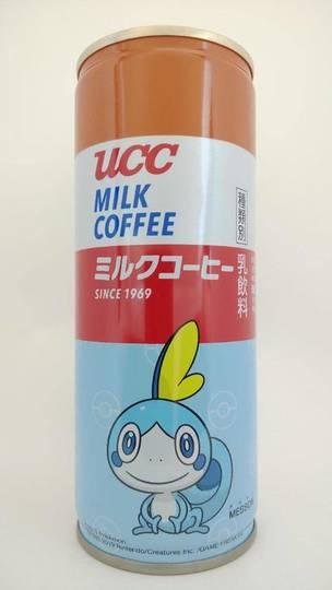 ユーシーシー ミルクコーヒー ポケットモンスターコラボ缶