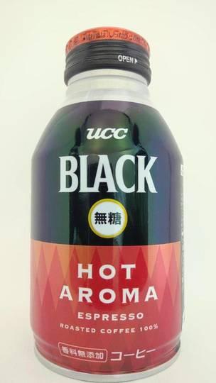ユーシーシー ブラック無糖 ホットアロマエスプレッソ