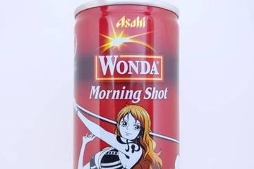 アサヒ飲料 ワンダ モーニングショット ワンピースコラボ缶