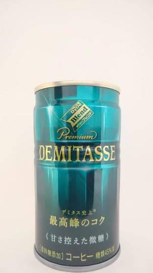 ダイドードリンコ ダイドーブレンド プレミアムデミタス 甘さ控えた微糖