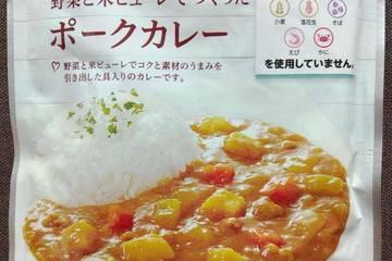 イオン トップバリュ 野菜と米ピューレでつくったポークカレー