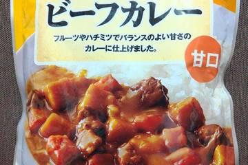 日本生活協同組合連合会 コープ 牛肉のうま味が溶け込んだビーフカレー 甘口