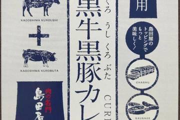島田屋 肉の名門島田屋 鹿児島黒牛黒豚カレー カレー専門店業務用