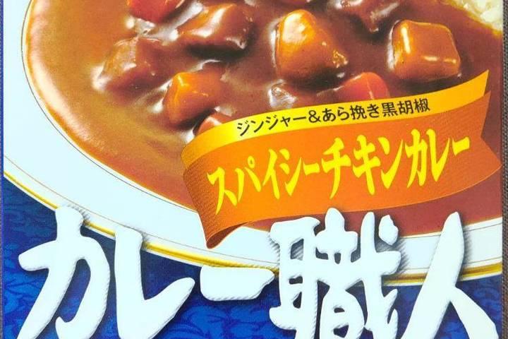 江崎グリコ カレー職人 ジンジャー&あら挽き黒胡椒 スパイシーチキンカレー